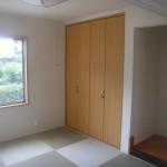 琉球調畳でゆったりくつろげるスペース
