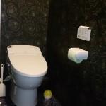 落ち着いたトイレ
