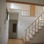 開放的な空間で心地の良い家
