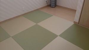 琉球畳で落ち着きのある空間を。